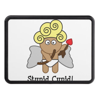 Stupid Cupid Trailer Hitch Cover