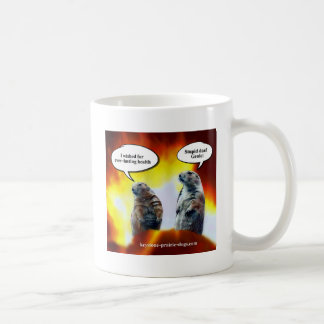 Stupid, deaf Genie Coffee Mug