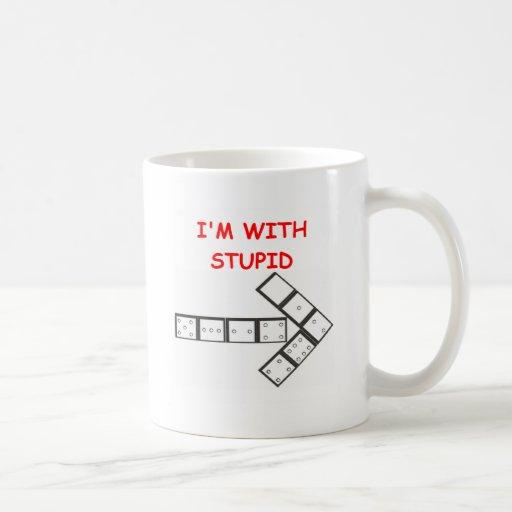 STUPID dominoes Coffee Mugs