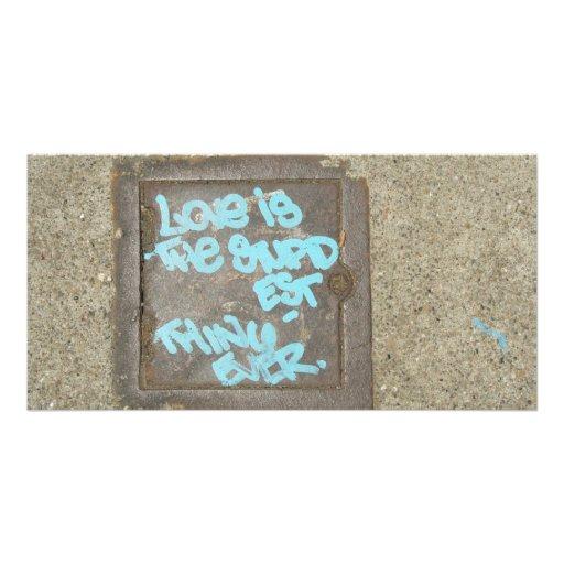 STUPID  LOVE PHOTO CARD