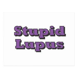 Stupid Lupus Postcard