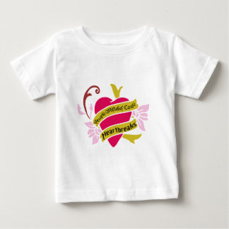 Stupid Mistakes Cause Heartbreaks Baby T-Shirt