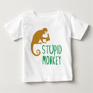 Stupid Monkey Baby T-Shirt