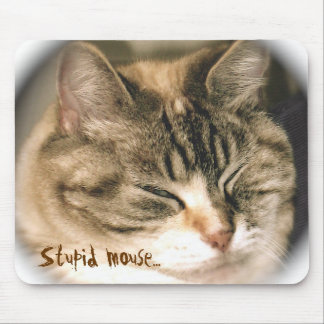 Stupid mouse... mouse pad