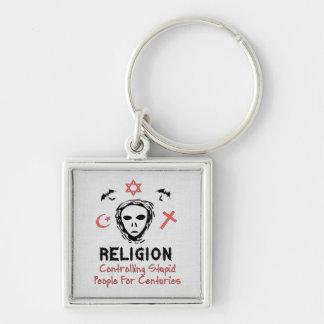 Stupid People Control Key Chains