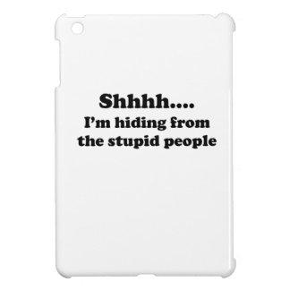 Stupid People iPad Mini Cover