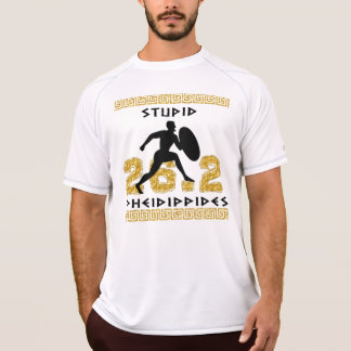 Stupid Pheidippides Marathon Runner New Balance SS T-Shirt