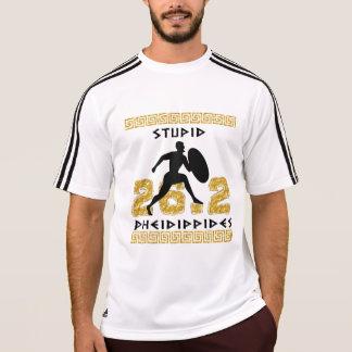 Stupid Pheidippides Marathon Running Adidas SS T-Shirt