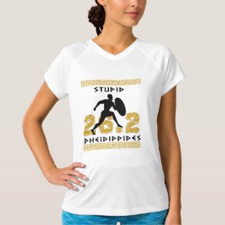 Stupid Pheidippides Marathon Running  Champion SS T-Shirt