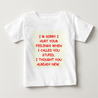 STUPID.png Baby T-Shirt