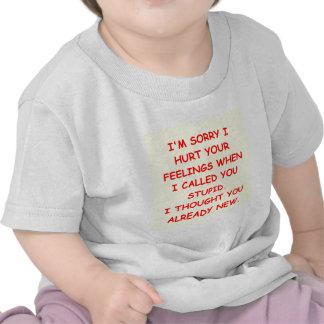 STUPID png Tee Shirts