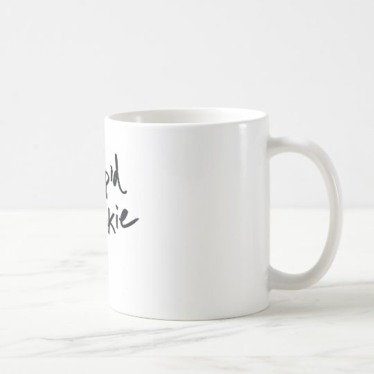 stupid rookie coffee mug