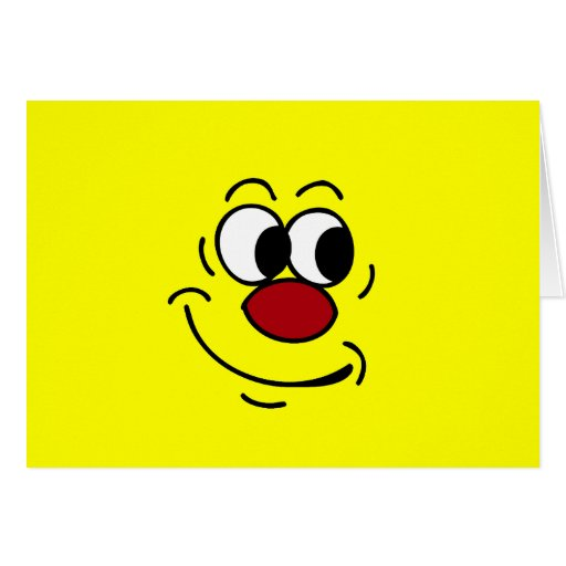 Stupid Smiley Face Grumpey Card