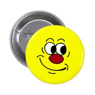 Stupid Smiley Face Grumpey Pinback Button