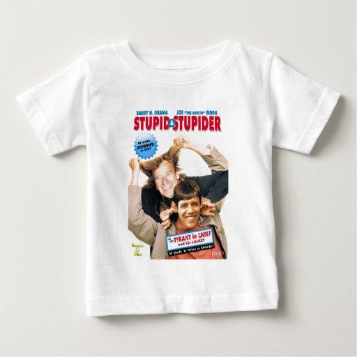 Stupid&Stupider Playera De Bebé