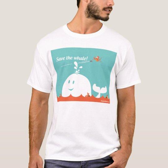 Stupid Twitter Fail Whale Tshirt - Save The Whale