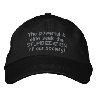 Stupidizeation Cap