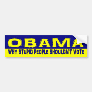 stupidPeople Bumper Sticker