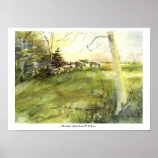 Sturbridge Village Sheep Poster
