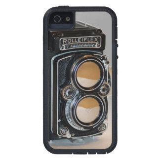Sturdy iPhone case with vintage reflex camera look