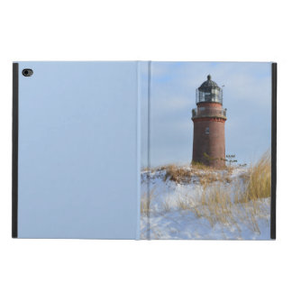 Sturdy Lighthouse on a Rocky Coast in Winter Powis iPad Air 2 Case