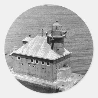 Sturgeon Bay Canal North Pierhead Lighthouse Stickers