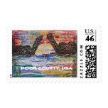 Sturgeon Bay Door County, Wisconsin Postage Stamp