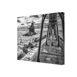 Sturgeon Bay Lighthouse Canvas Print
