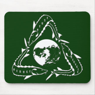 Sturgeon Mouse Pad - Recycle