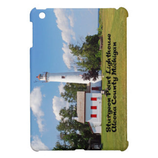 Sturgeon Point Light House Michigan Cover For The iPad Mini