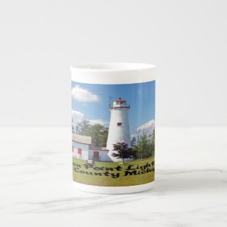 Sturgeon Point Light House Michigan Tea Cup