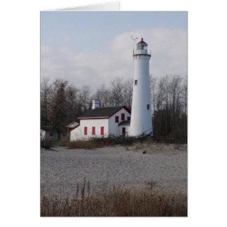 Sturgeon Point Lighthouse Card
