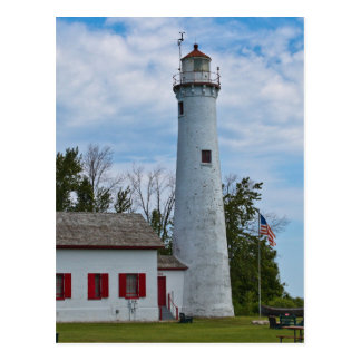 Sturgeon Point Lighthouse Postcard