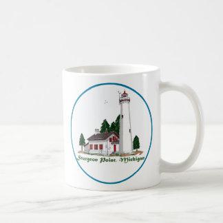 Sturgeon Point Michigan Coffee Mug
