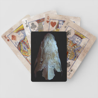 Sturgeon Skull Playing Cards