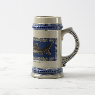 Sturgeon Stein - White Sturgeon Mugs