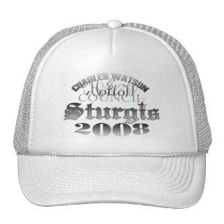 STURGIS 2008 Hat - white ball cap