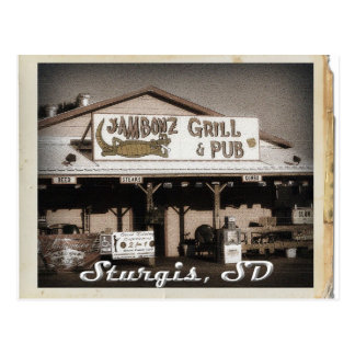 Sturgis SD Postcard