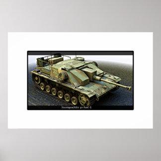 Sturmgeschutz 40 Ausf G- Print 2