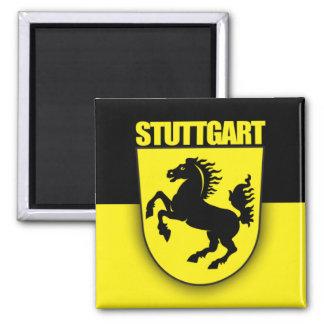 Stuttgart 2 Inch Square Magnet