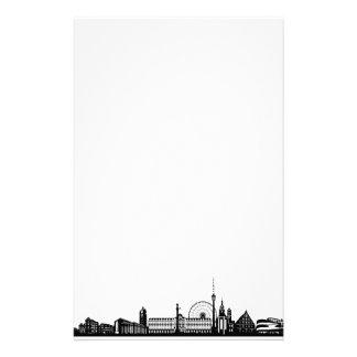Stuttgart city of skyline - other gift ideas stationery