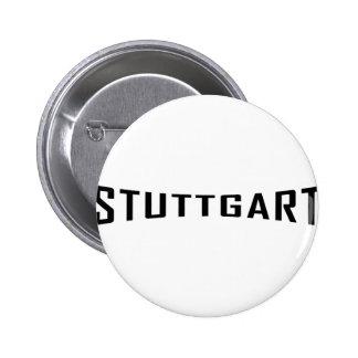 stuttgart deutschland icon pinback button