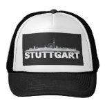 Stuttgart Stadt Skyline - sonstige Geschenkideen Trucker Mützen