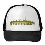 Stuttgart Stadt Skyline - sonstige Geschenkideen Netzmützen