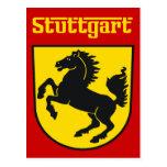 Stuttgart Tarjeta Postal