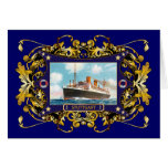 Stuttgart  Vintage Steamship Passenger Ship Card