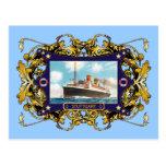 Stuttgart  Vintage Steamship Passenger Ship Post Cards