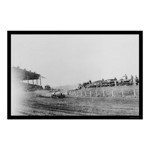 Stutz Auto Racing at Benning 1916 Poster