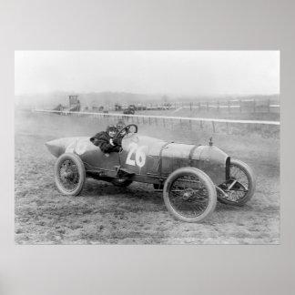 Stutz Weightman Race Car, 1916 Poster