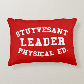 STUYVESANT LEADER PHYSICAL ED. DECORATIVE PILLOW